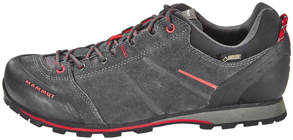Mammut Wall Guide Low GTX Chaussures gris